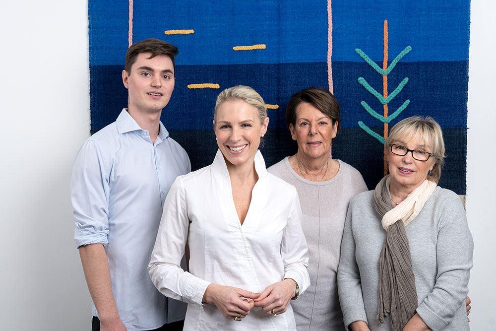 Dr. Kerstin Schallaboeck und Team